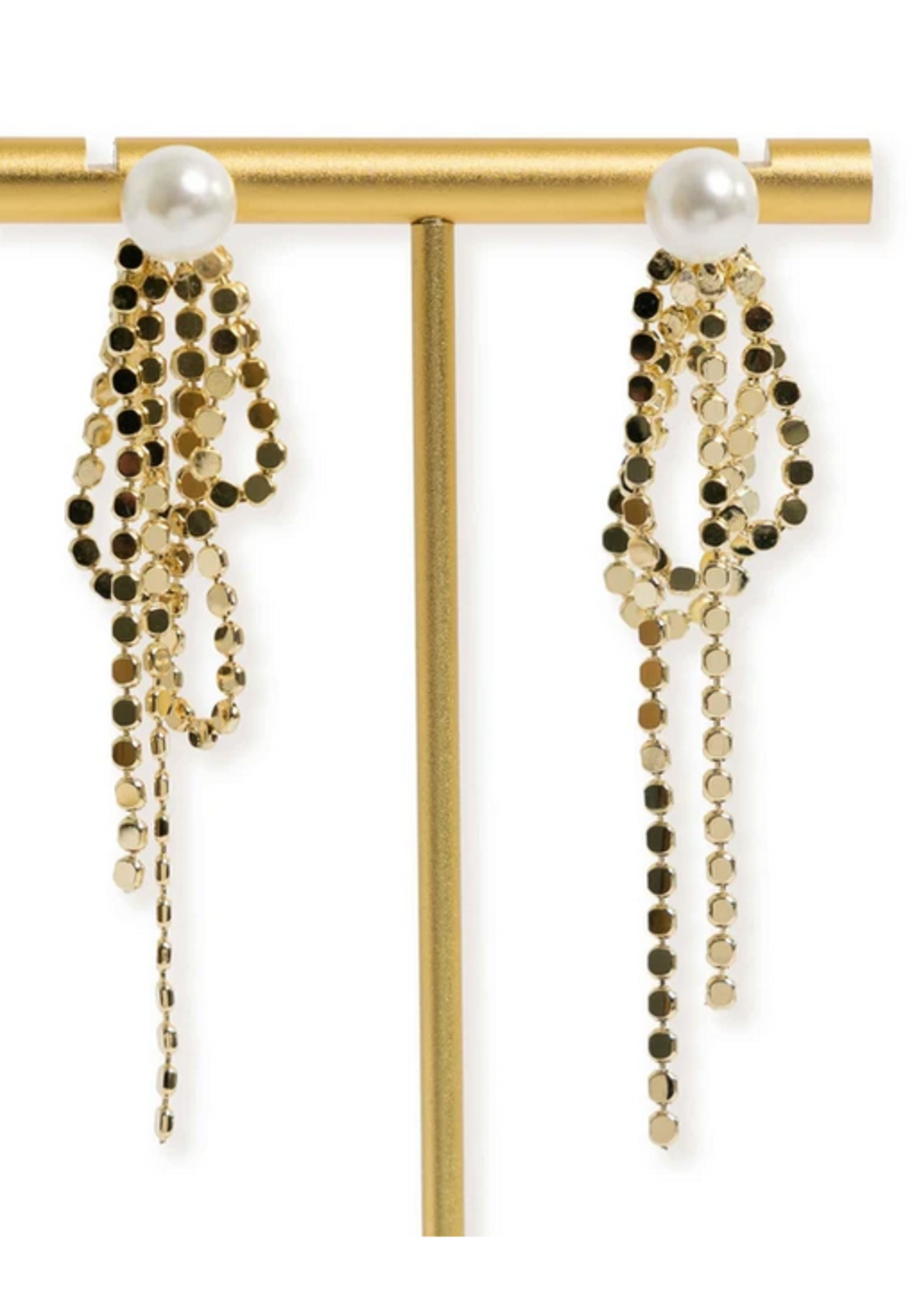 Elitaire Boutique Monaco Pearl Earring