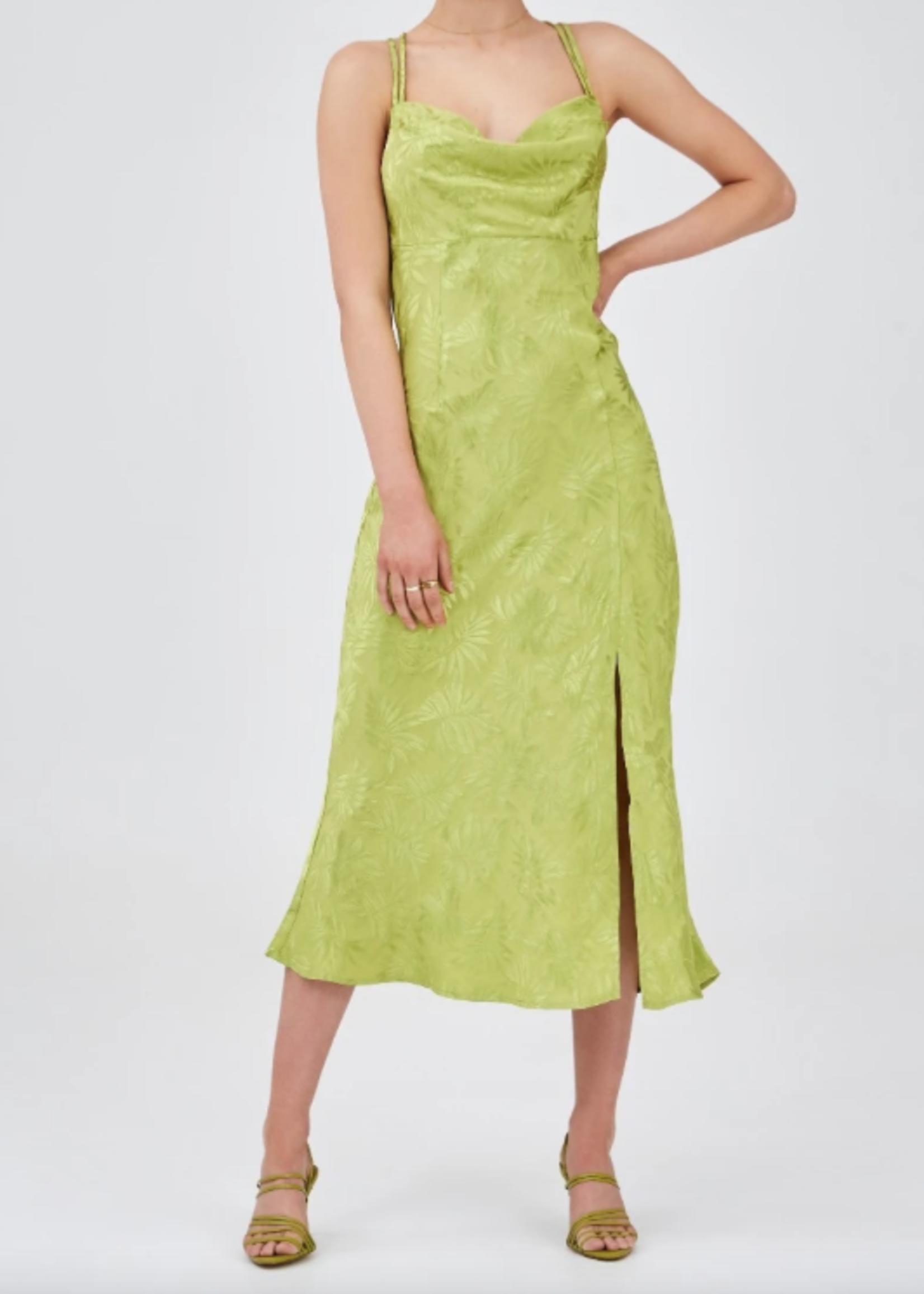 Elitaire Boutique Vacancies Green Midi Dress