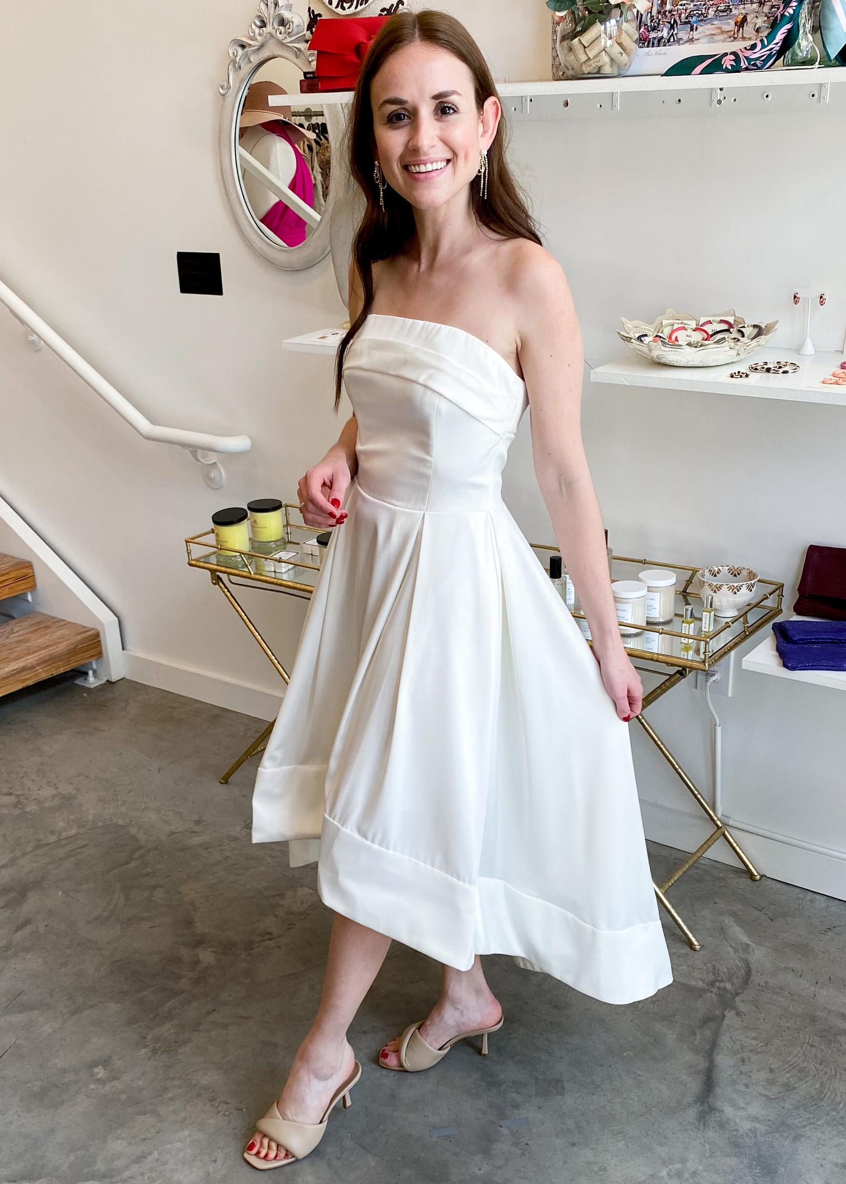Elitaire Boutique Lucia White Dress