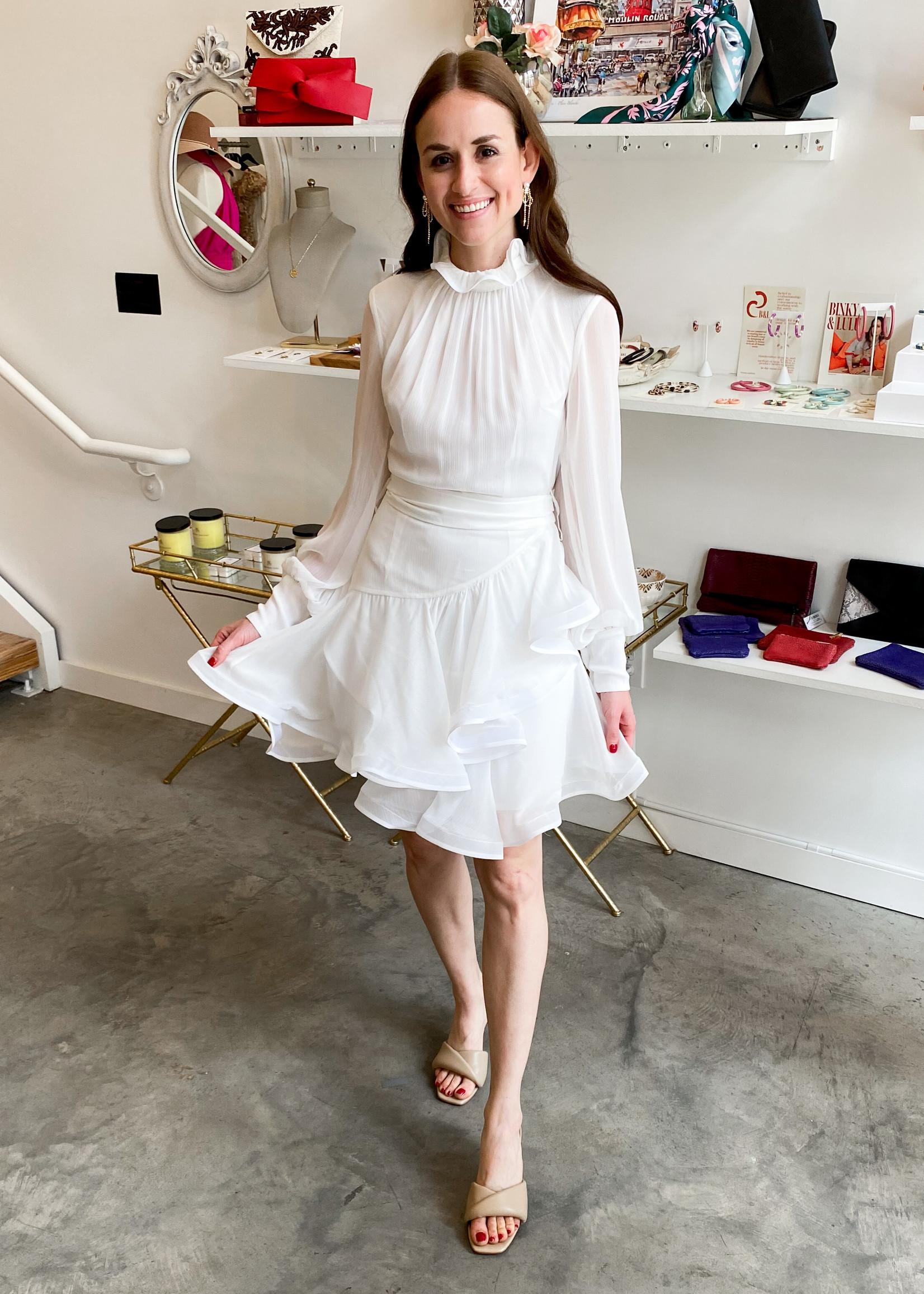 Elitaire Boutique Callie Ivory Dress