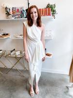 Elitaire Boutique Blakely White Dress