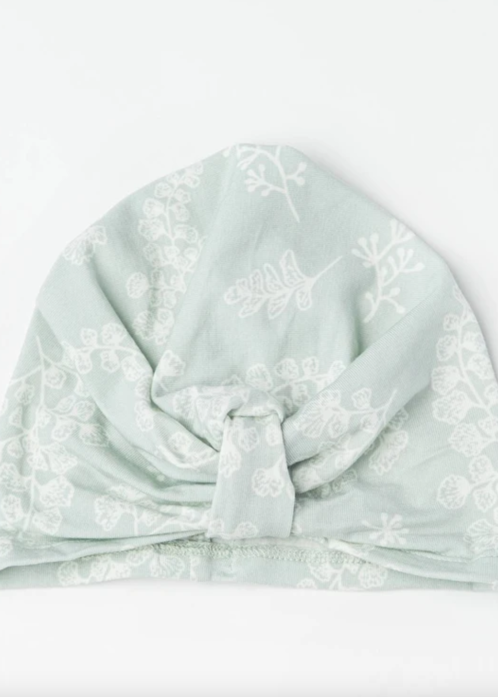 Elitaire Petite Girl's Turban in Fern - 0 to 6M