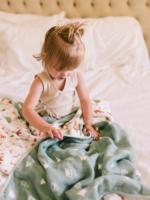 Elitaire Petite Muslin Quilt Blanket - Forest Friends