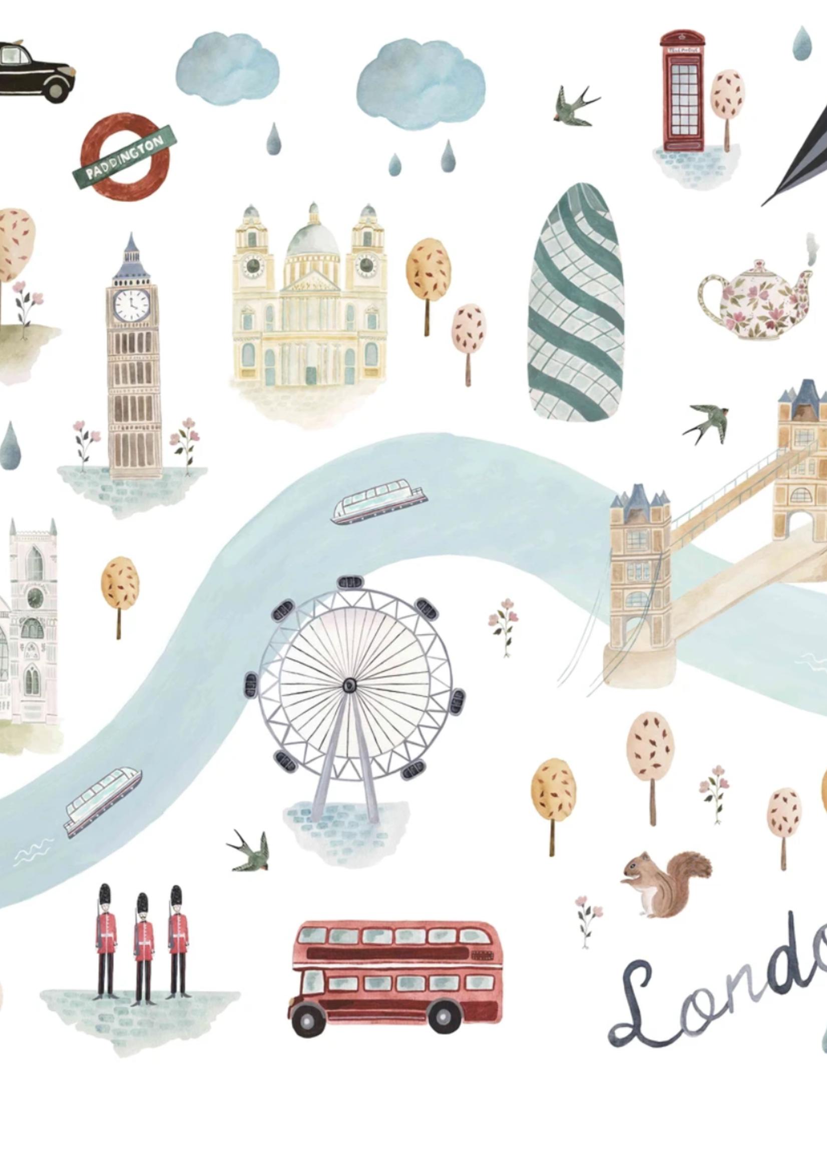 Elitaire Petite Muslin Swaddle - London