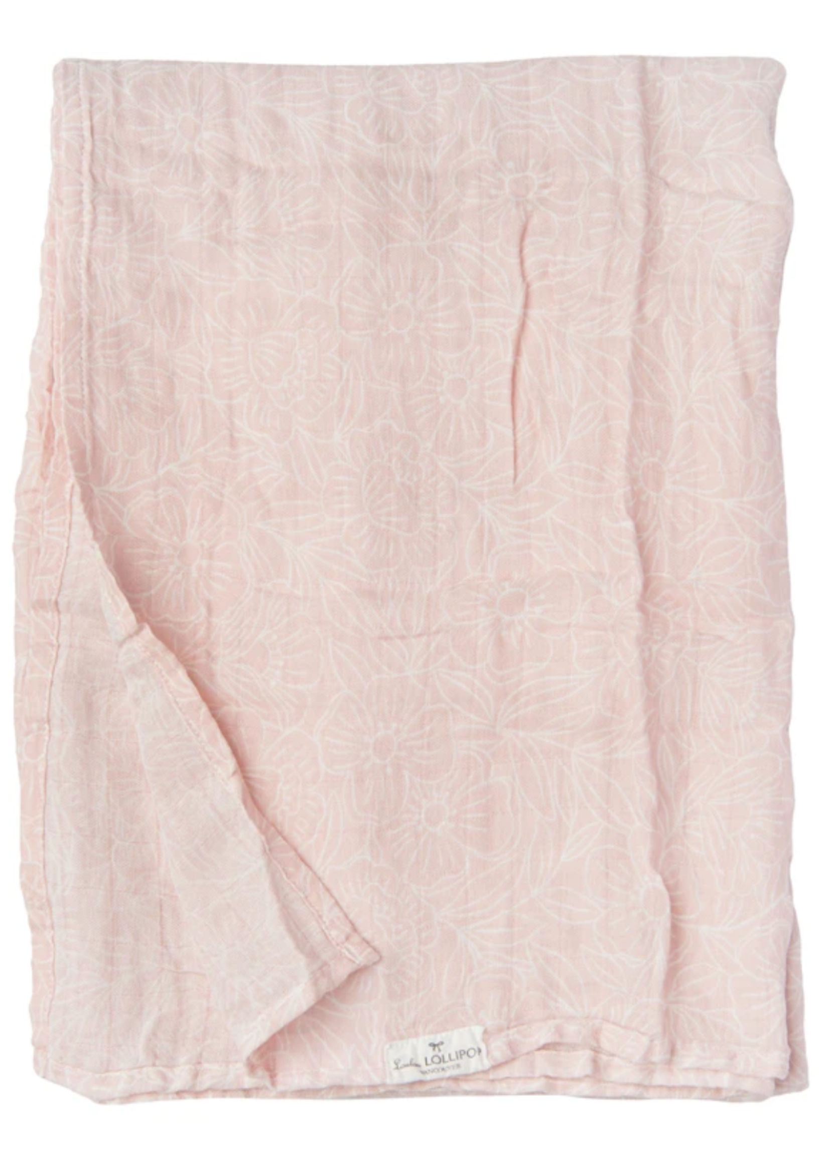 Elitaire Petite Muslin Swaddle - Sepia Rose Floral