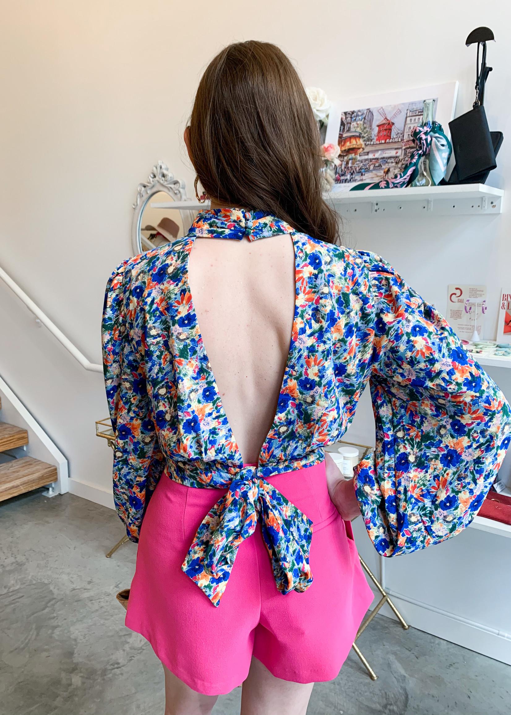 Elitaire Boutique Fayre Floral Top