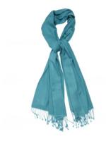 Elitaire Boutique Peacock Blue Pashmina