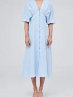 Elitaire Boutique The Riley Midi Dress in Sky