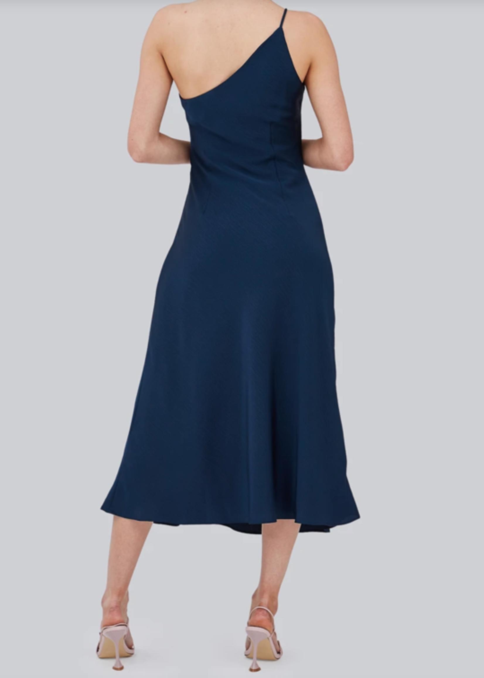 Elitaire Boutique The Avenue Midi Dress in Midnight