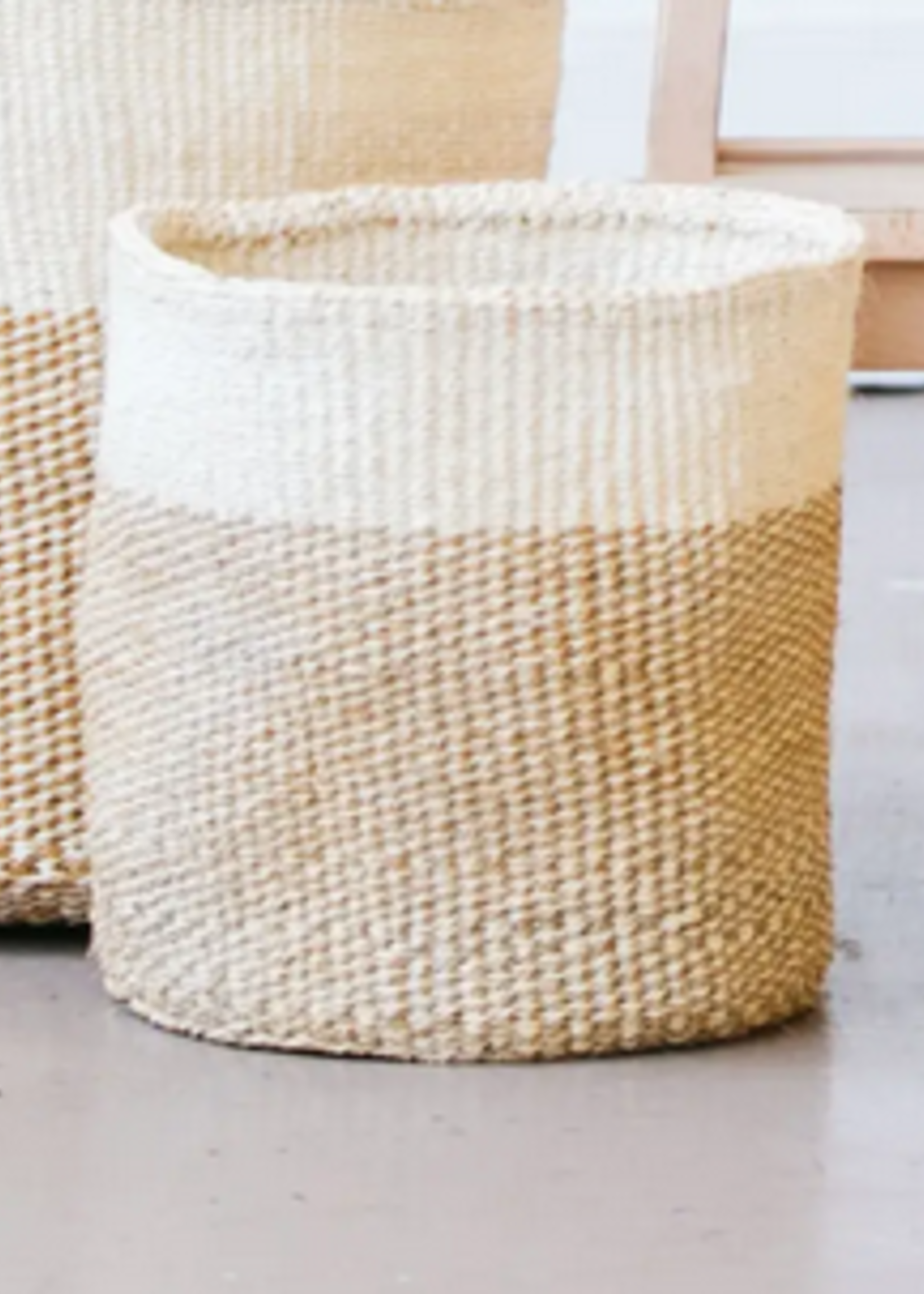 Elitaire Petite Natural Medium Storage Basket