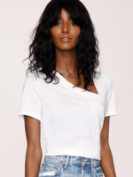 Elitaire Boutique Cheryl Tee in Eggshell