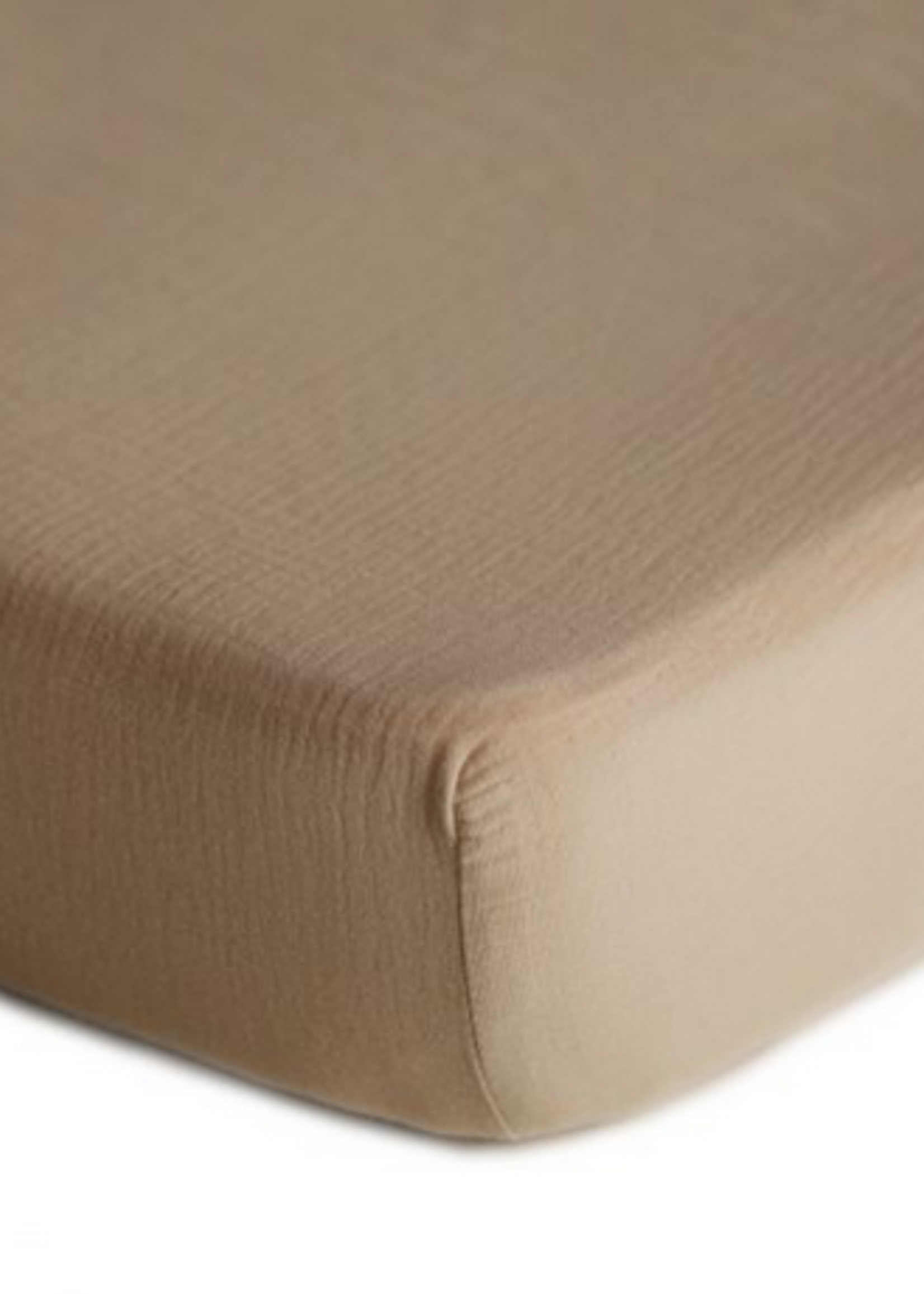 Elitaire Petite Extra Soft Muslin Crib Sheet in Natural
