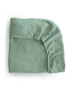 Elitaire Petite Extra Soft Muslin Crib Sheet in Roman Green