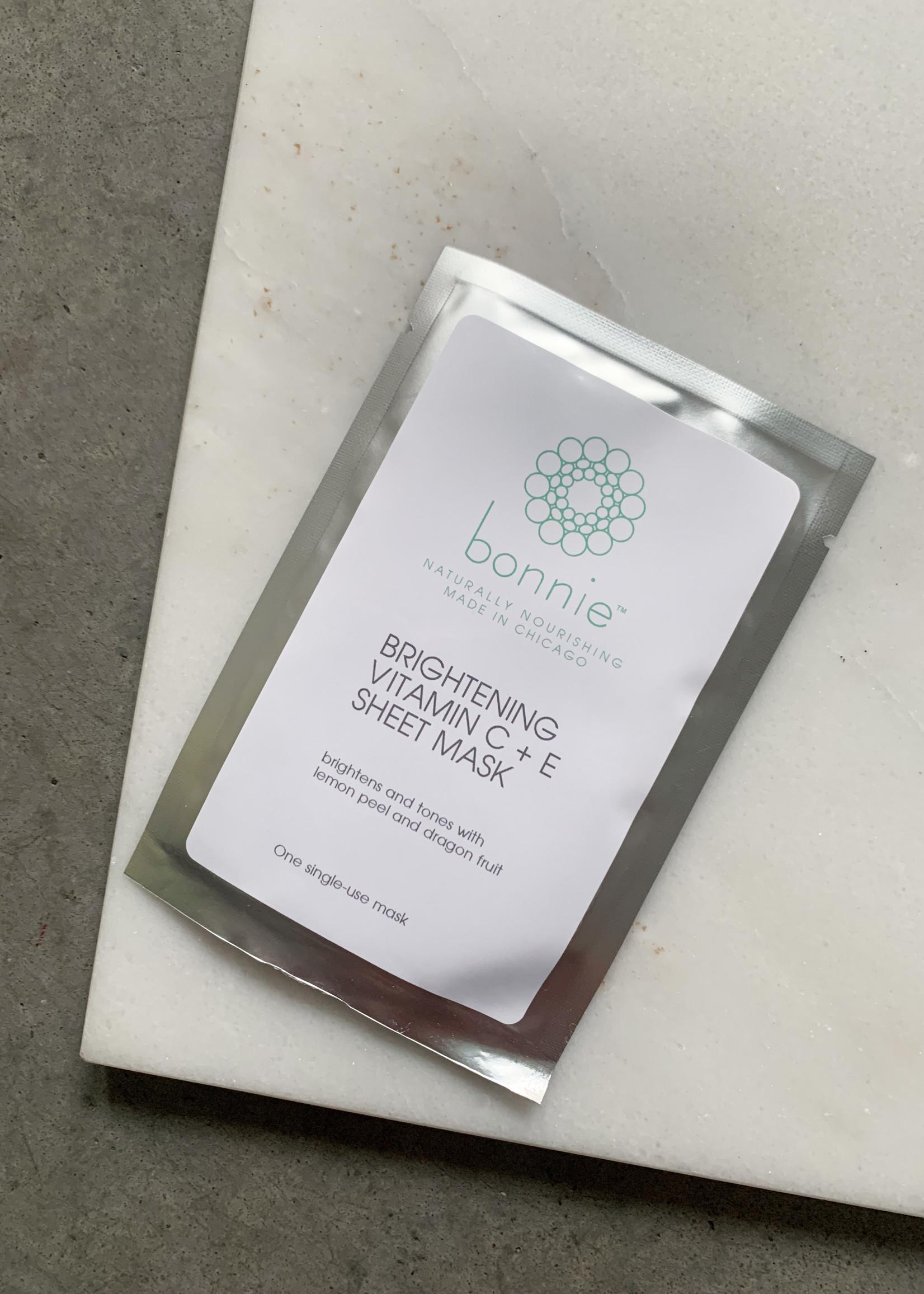 Elitaire Boutique Brightening Vitamin C + E Sheet Mask
