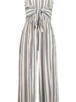 Elitaire Boutique Elva Tie Front Jumpsuit