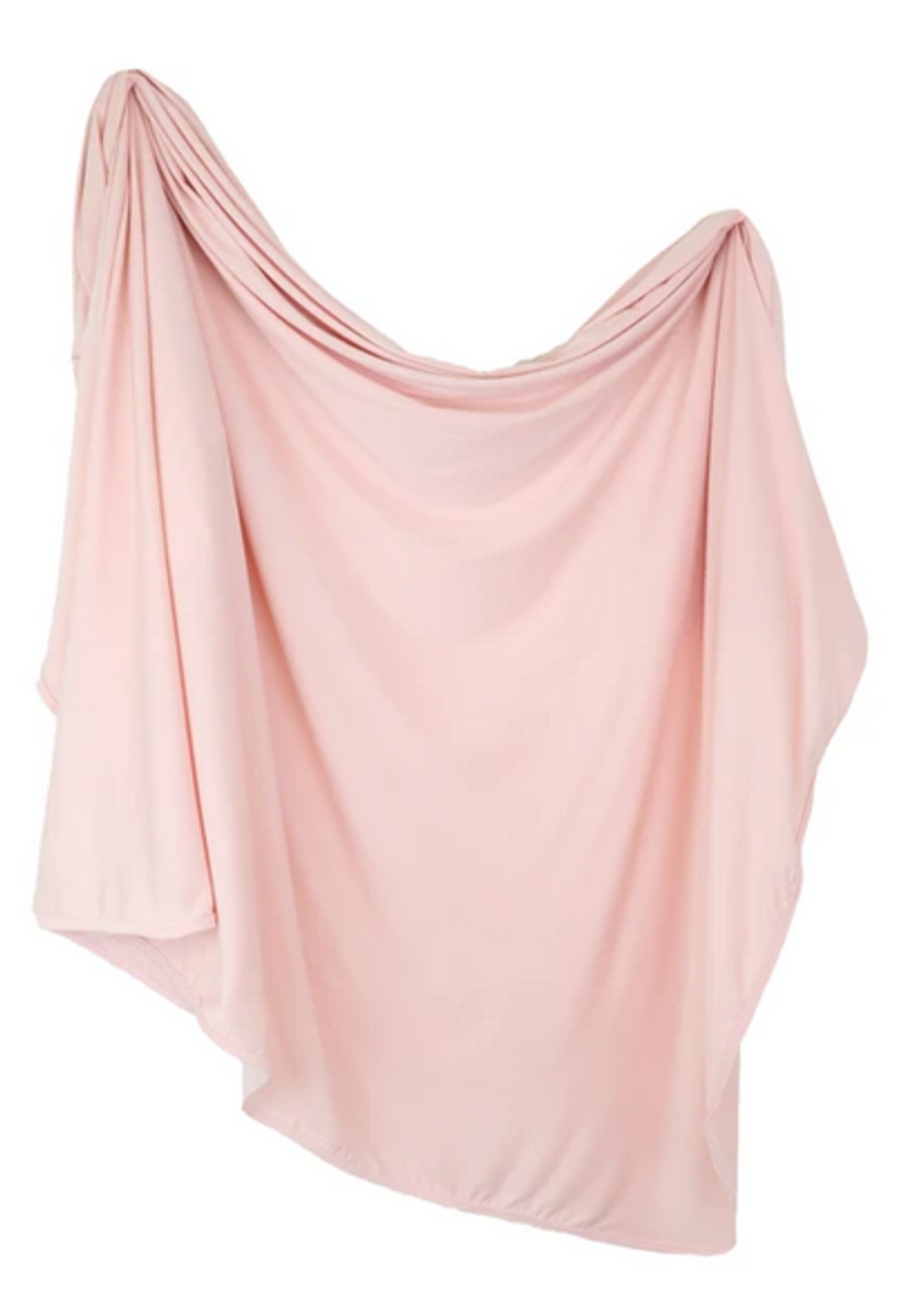 Elitaire Petite Ava Pink Knit Swaddle Blanket
