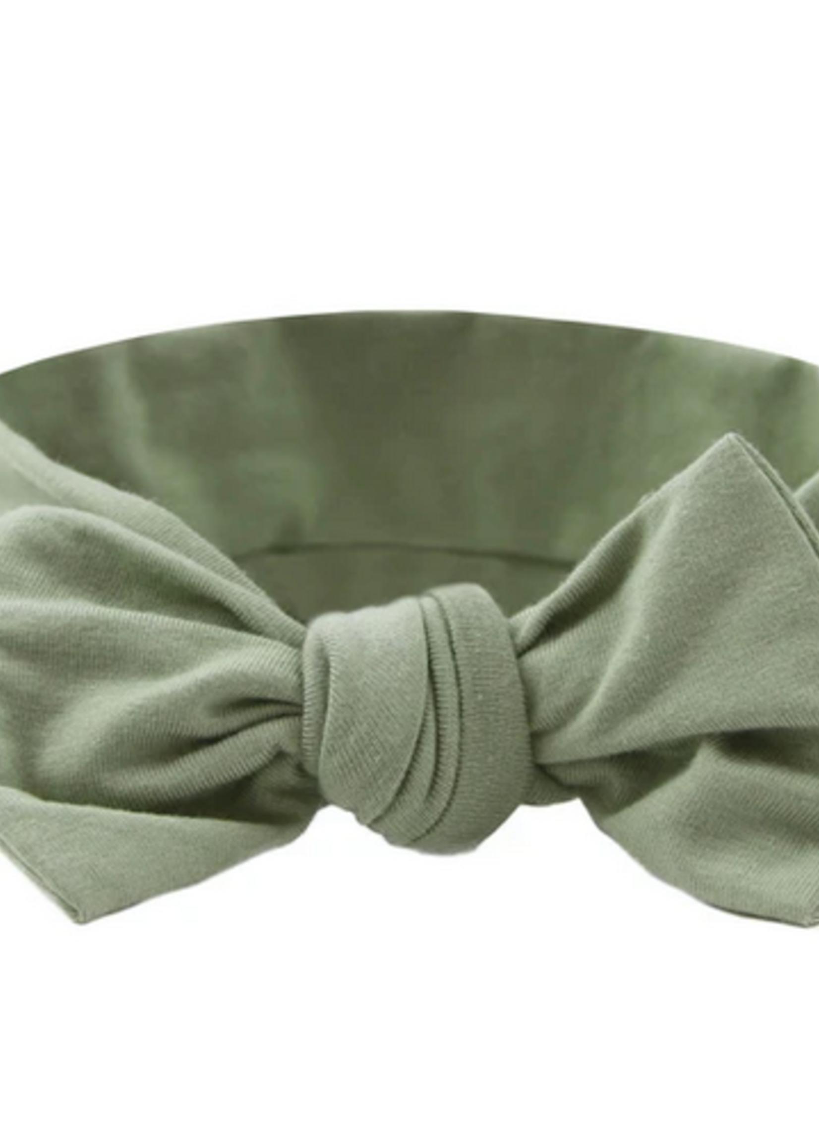 Elitaire Petite Marley Sage Newborn Bundle (Headband)