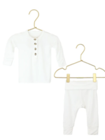 Elitaire Petite Finley White Set 3-6 Months