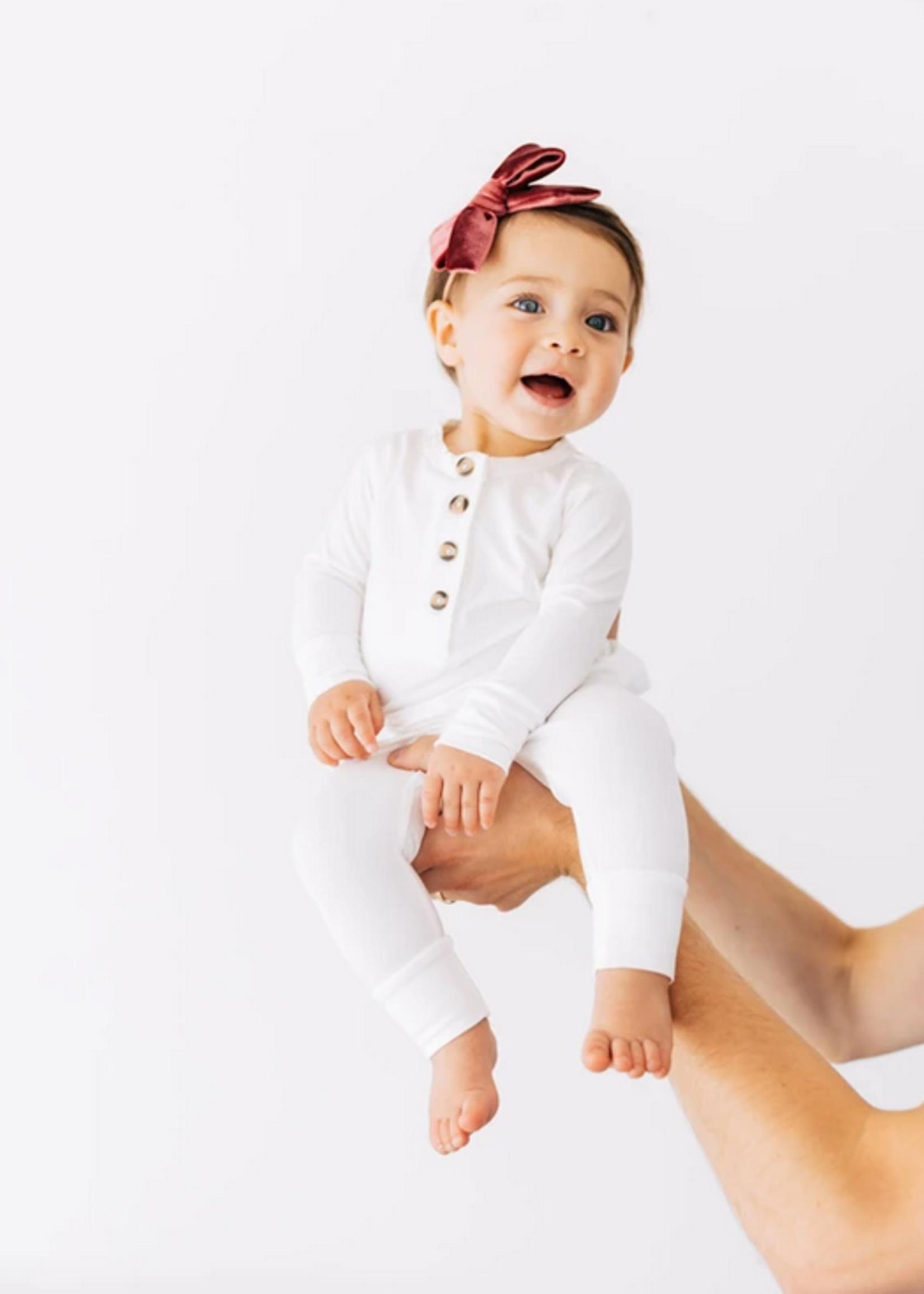 Elitaire Petite Finley White Set 6-12 Months