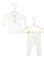 Elitaire Petite Finley White Set 12 -24 Months