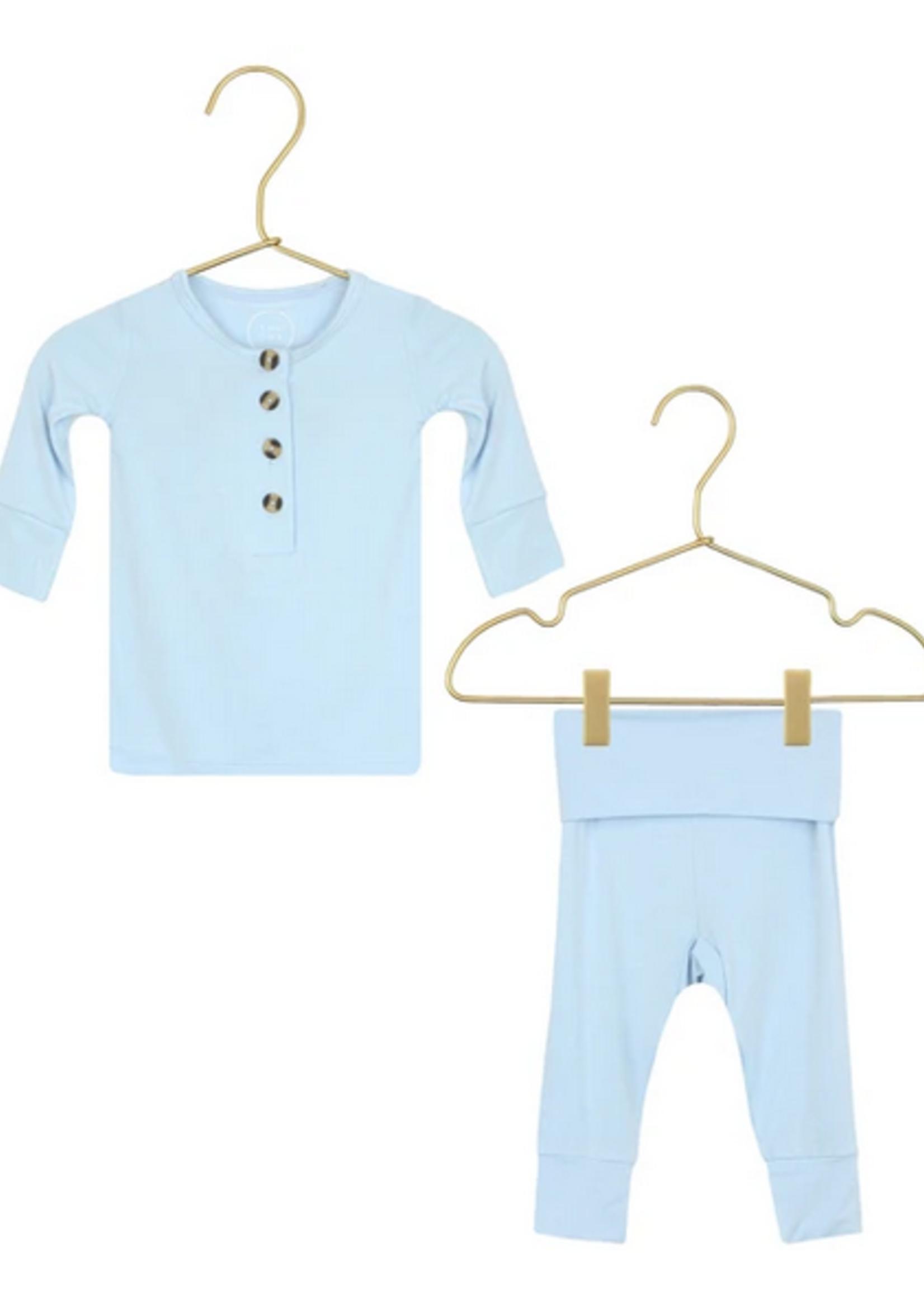 Elitaire Petite Jude Baby Blue Set 3-6Months