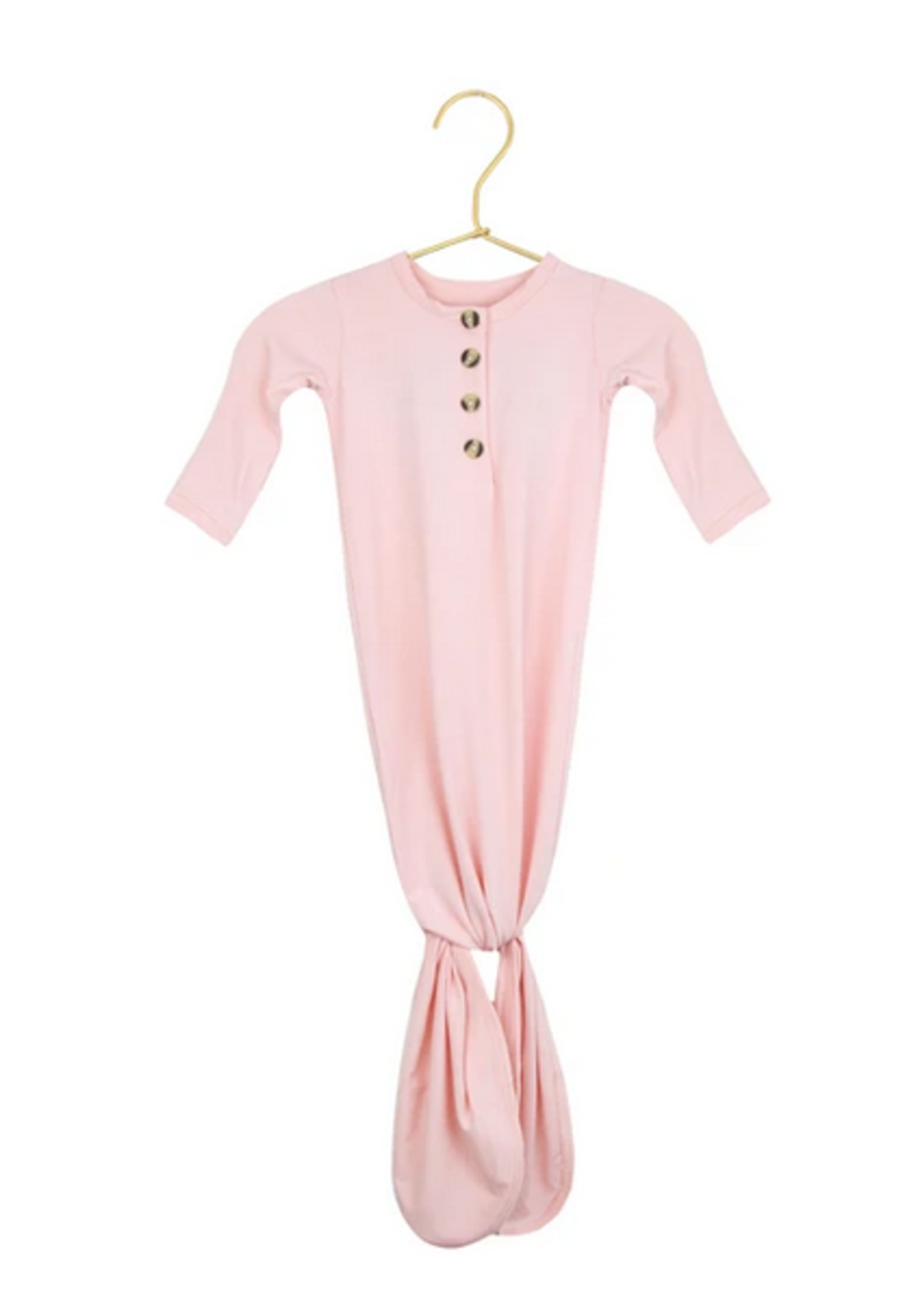 Elitaire Petite Ava Pink Knotted Gown 3-6 Month