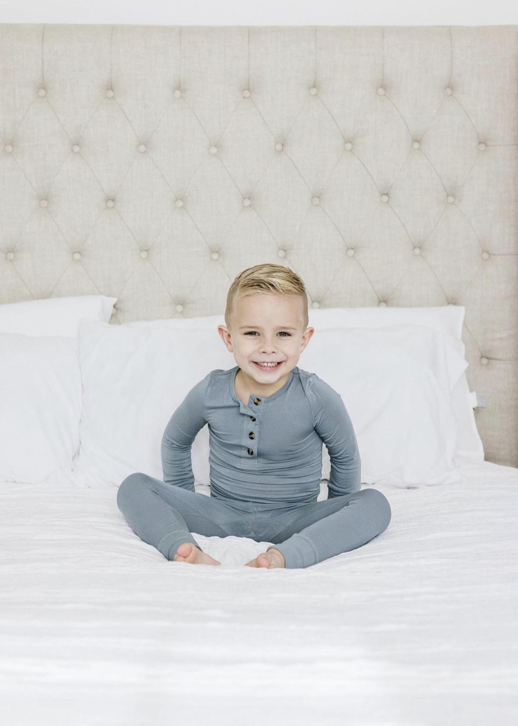 Elitaire Petite Leo Dusty Blue Set 6-12 Month