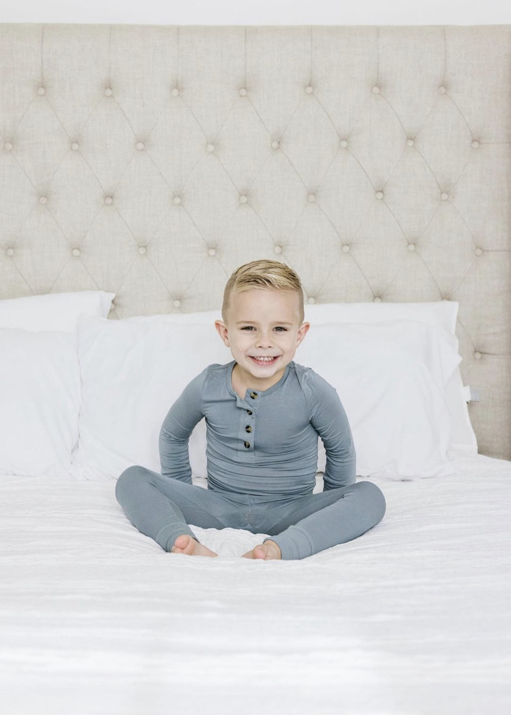 Elitaire Petite Leo Dusty Blue Set 12-24 Month