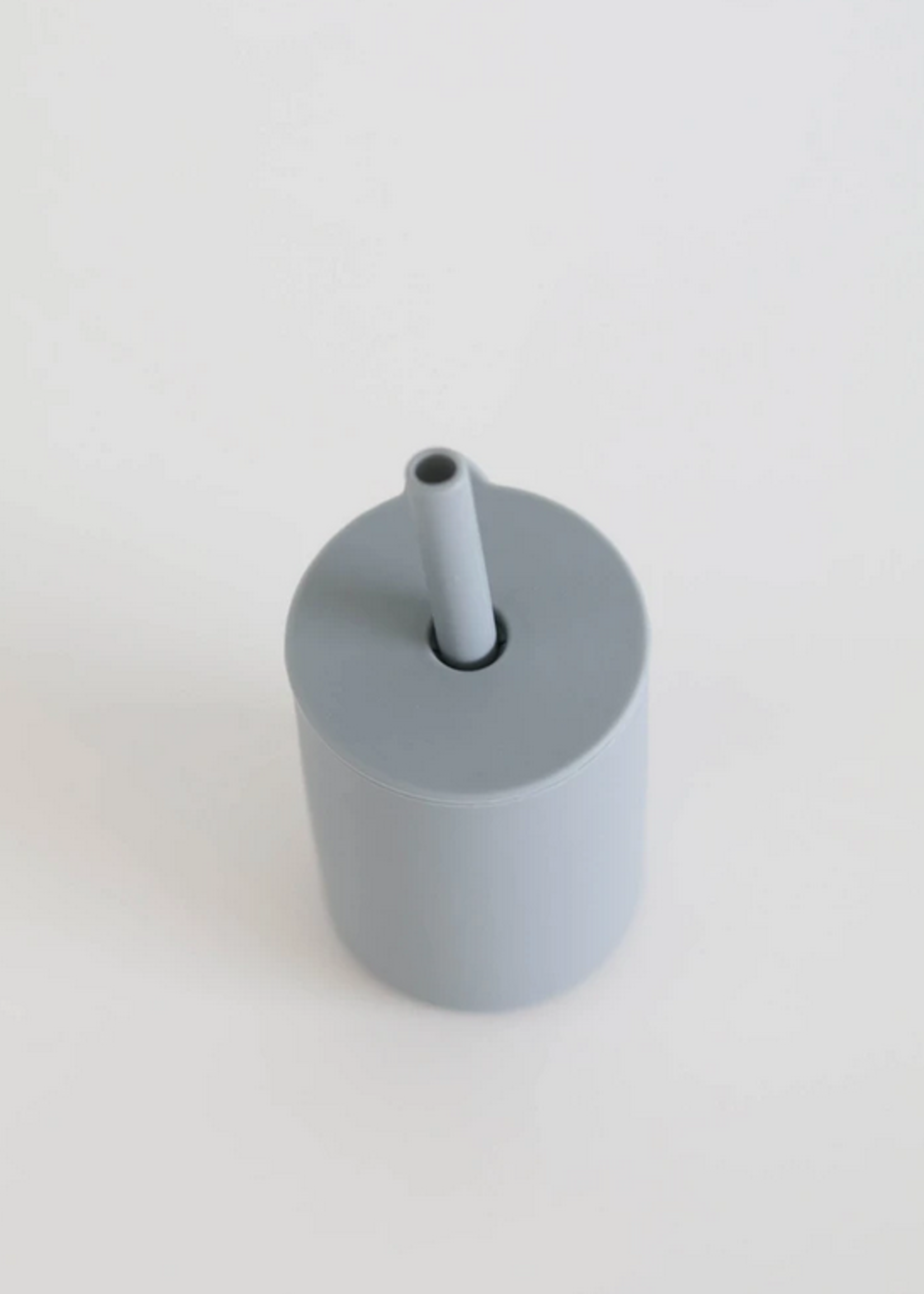 Elitaire Petite Sky Silicone Straw Cup