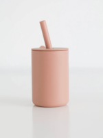 Elitaire Petite Coral Silicone Straw Cup