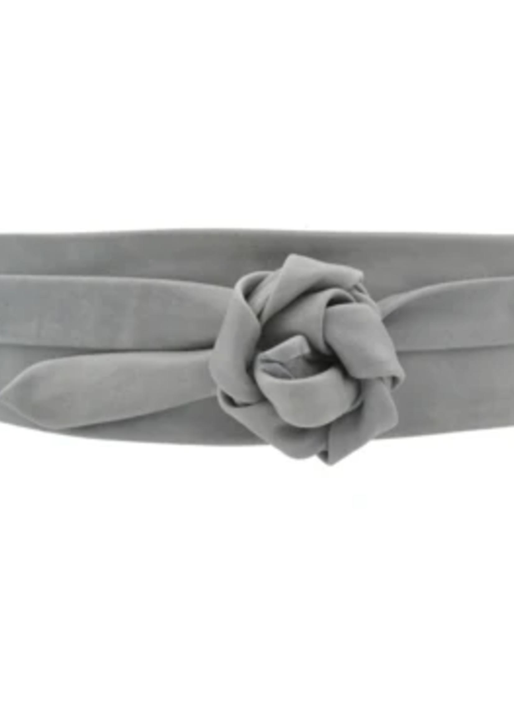 Elitaire Boutique Wrap Belt - Grey