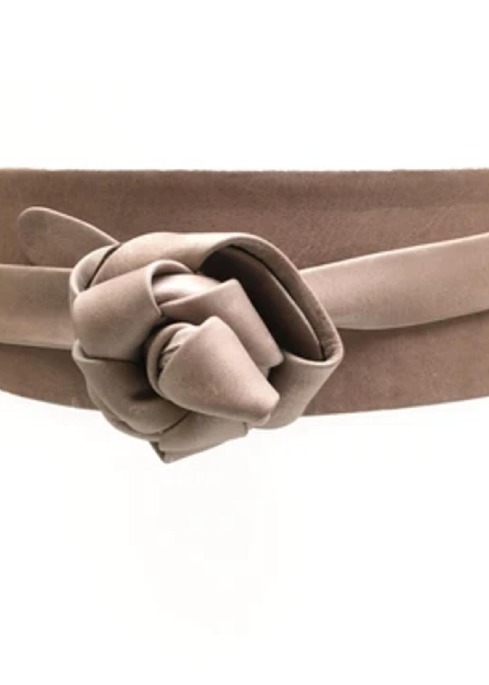 Elitaire Boutique Wrap Belt - Taupe