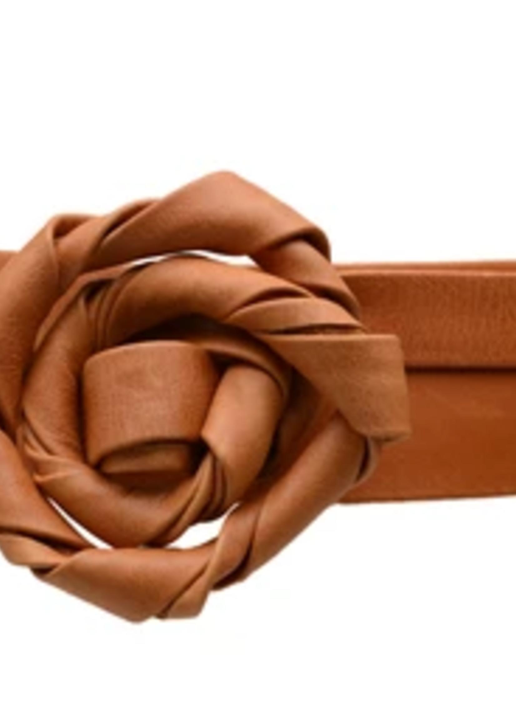 Elitaire Boutique Midi Wrap Belt - Cognac