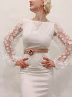 Elitaire Boutique Skinny Wrap Belt - Texas Rose