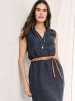 Elitaire Boutique Skinny Wrap Belt - Tan