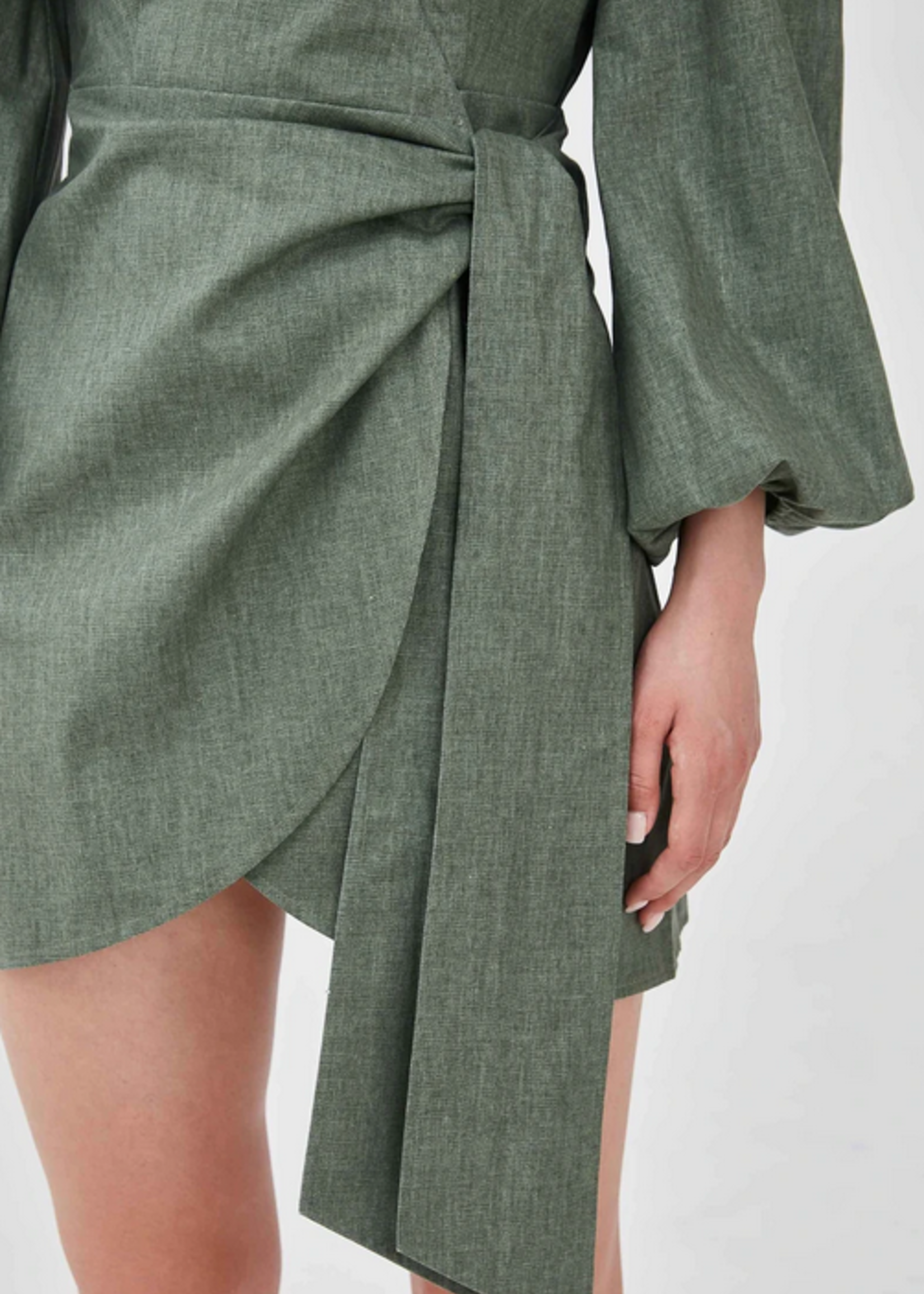 Elitaire Boutique Sasha Dress in Sage