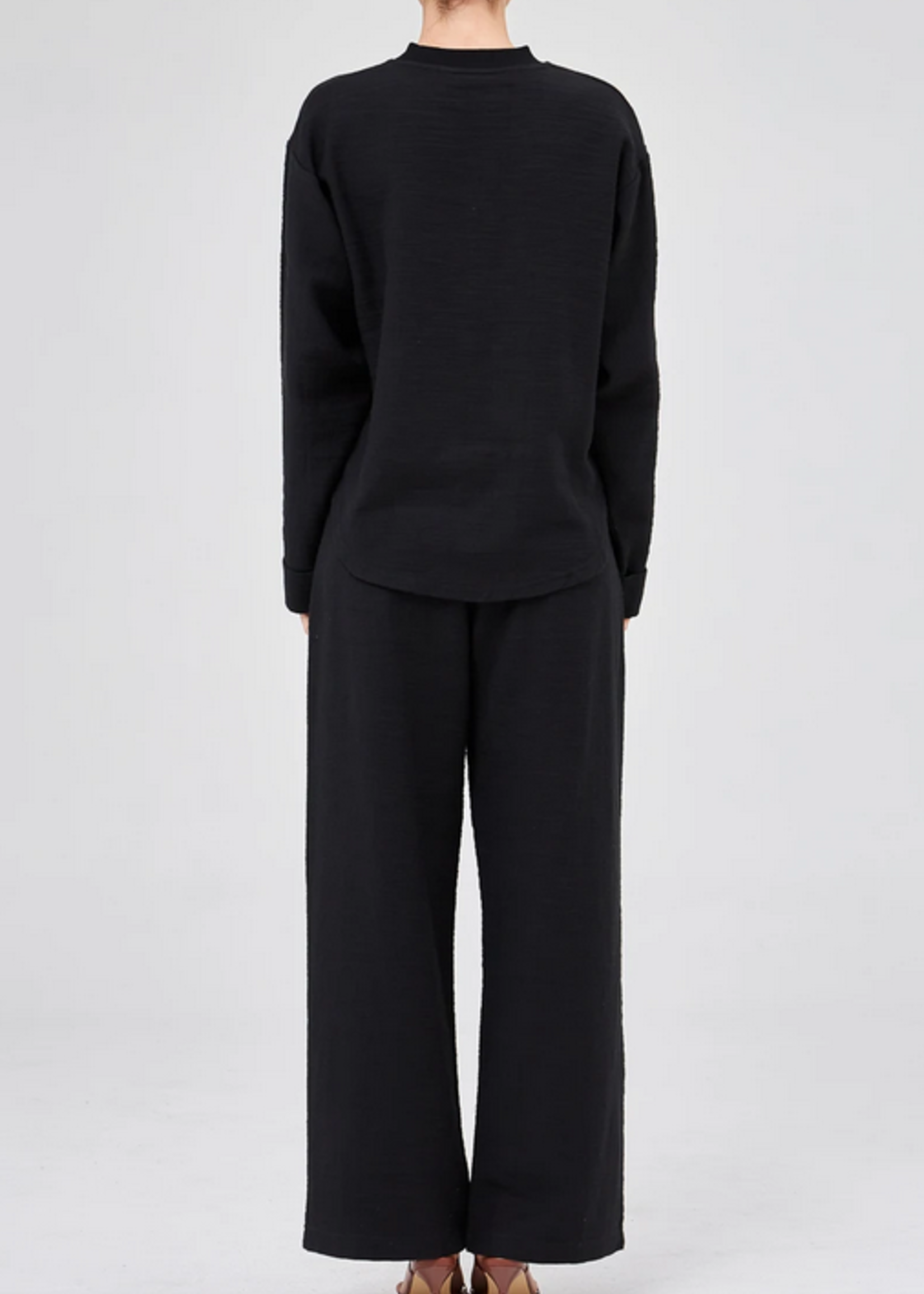 Elitaire Boutique Ivy Top in Black