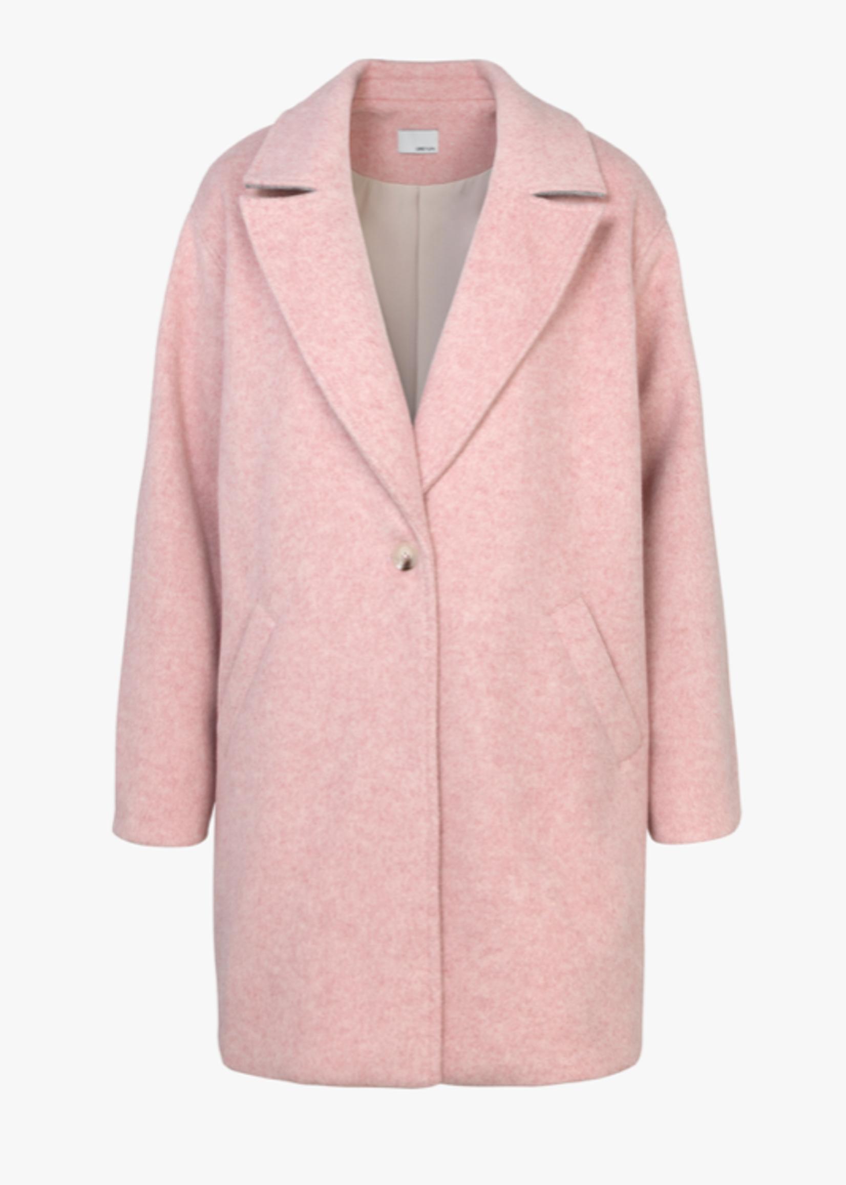 Elitaire Boutique La Femme Coat in Light Pink