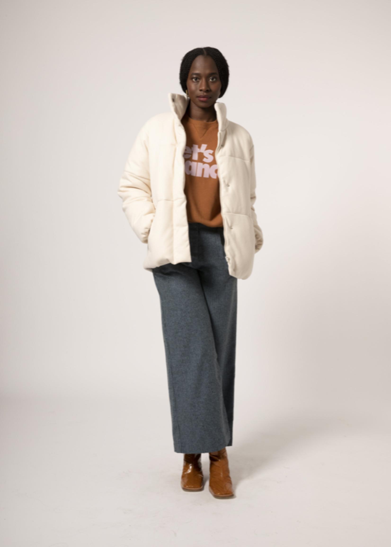 Elitaire Boutique Sasha Coat in Creme