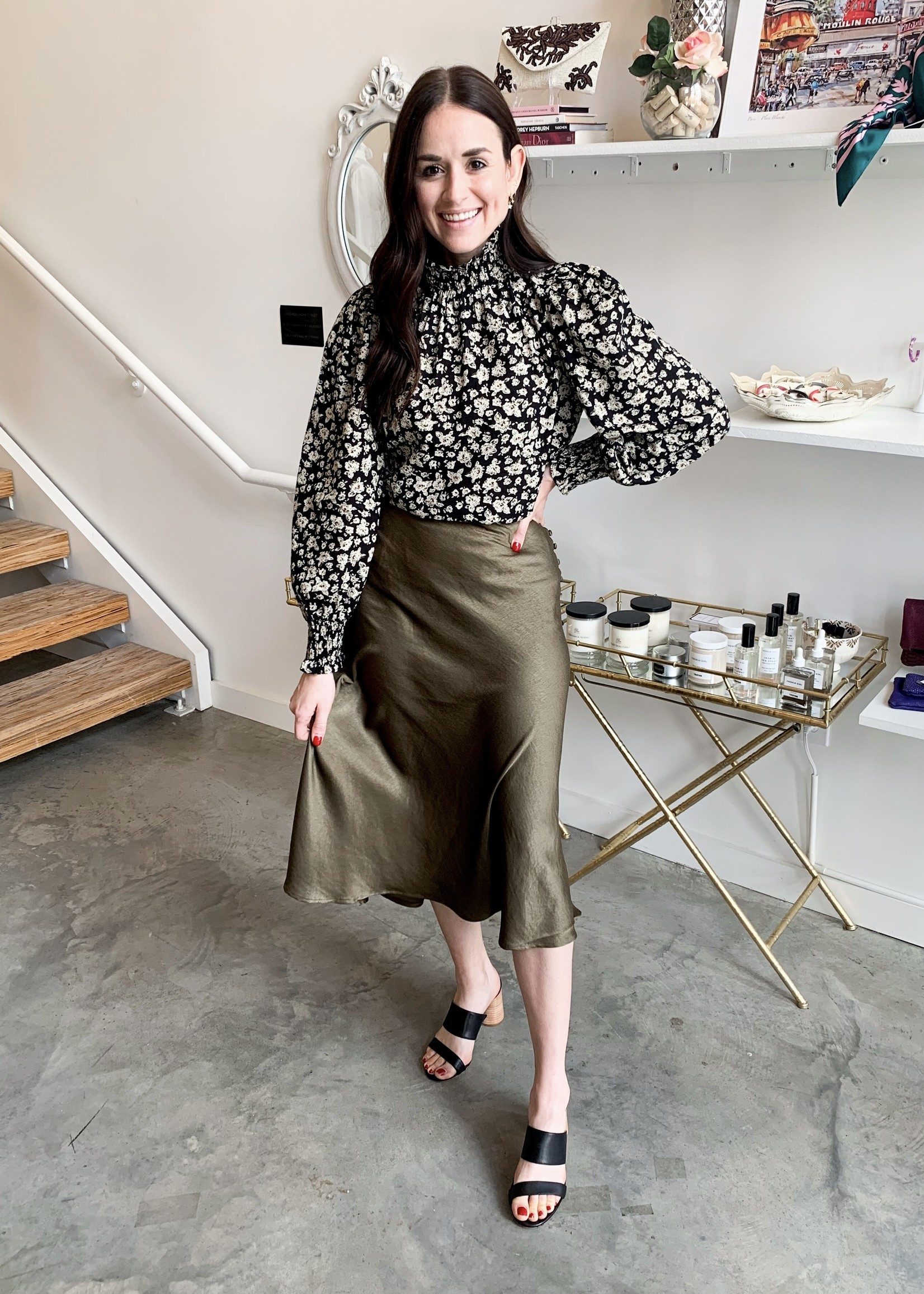 Elitaire Boutique Eniat Woven Skirt