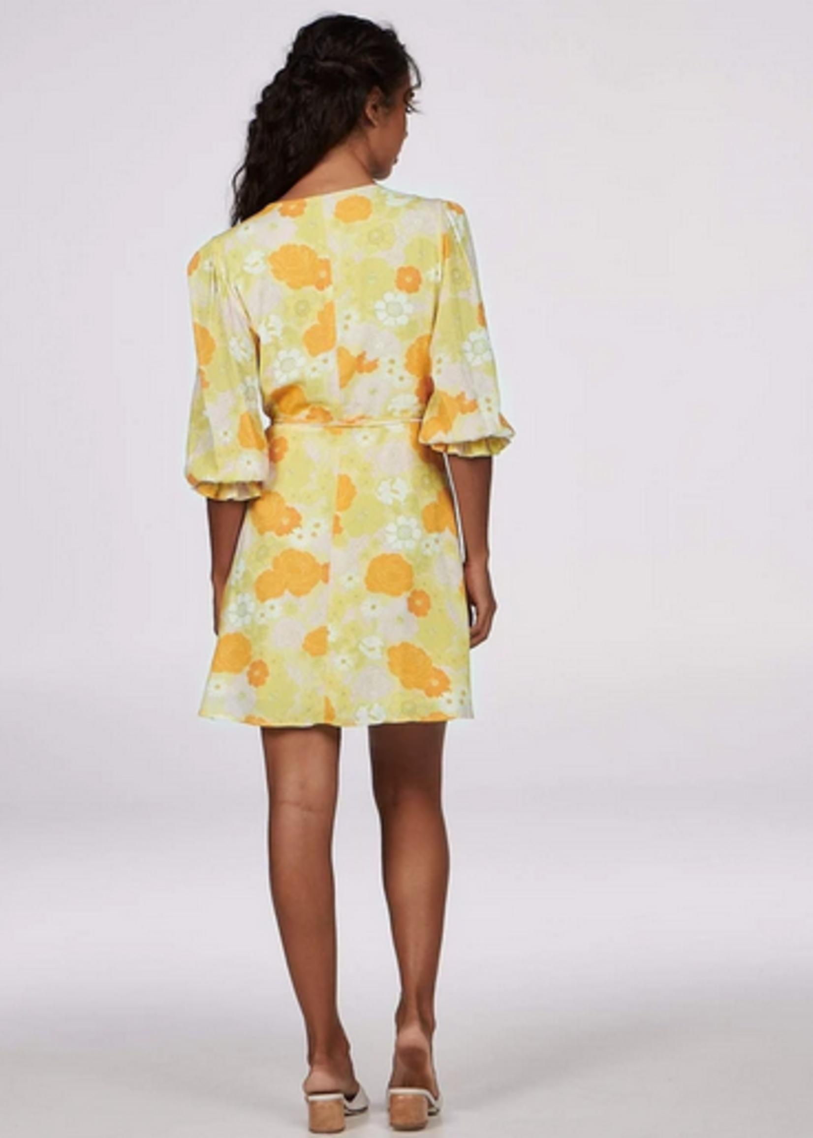 Elitaire Boutique Maya Floral Wrap Dress
