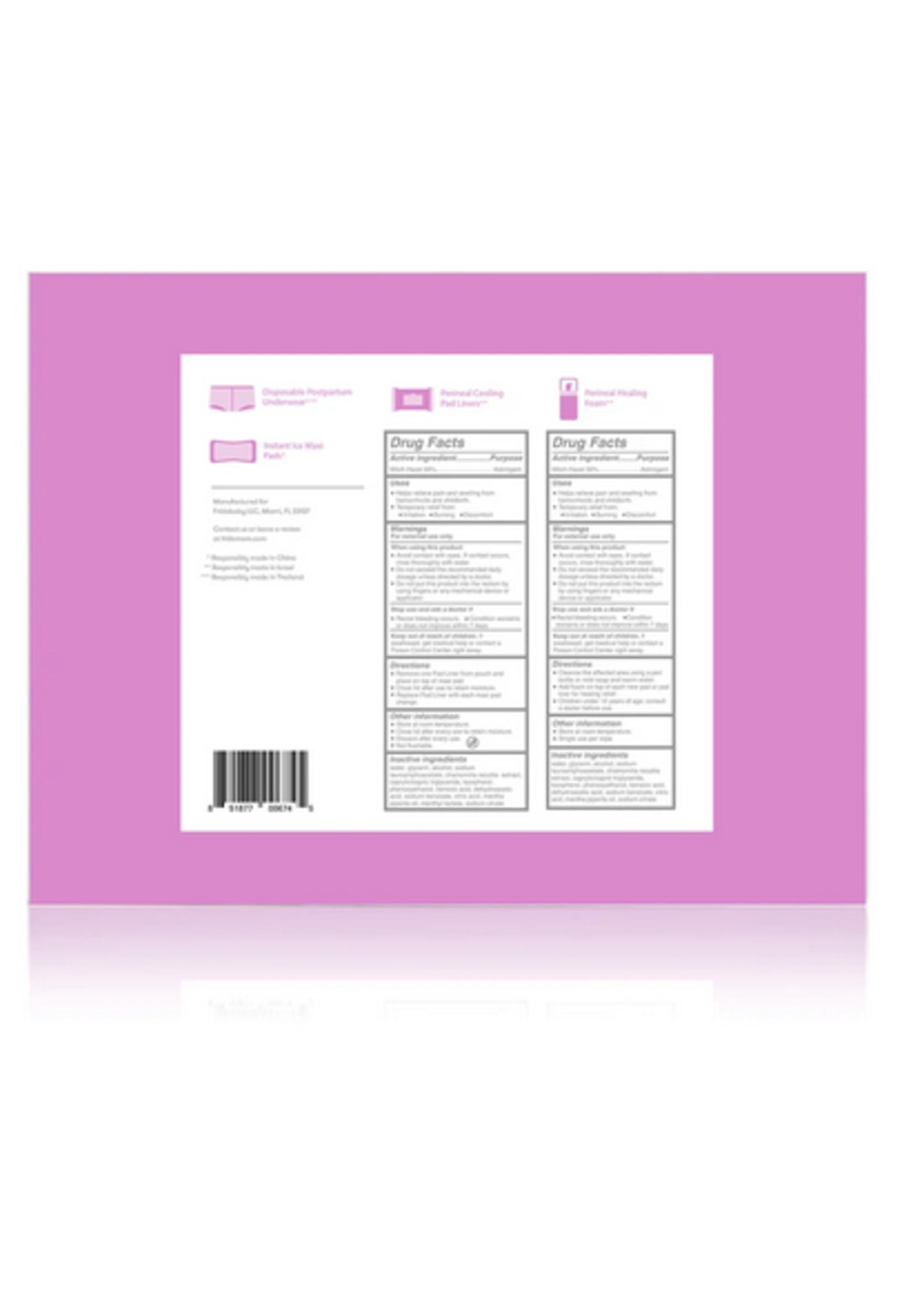 Elitaire Petite Postpartum Recovery Essentials Kit