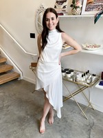 Elitaire Boutique Alaia Dress in Ivory