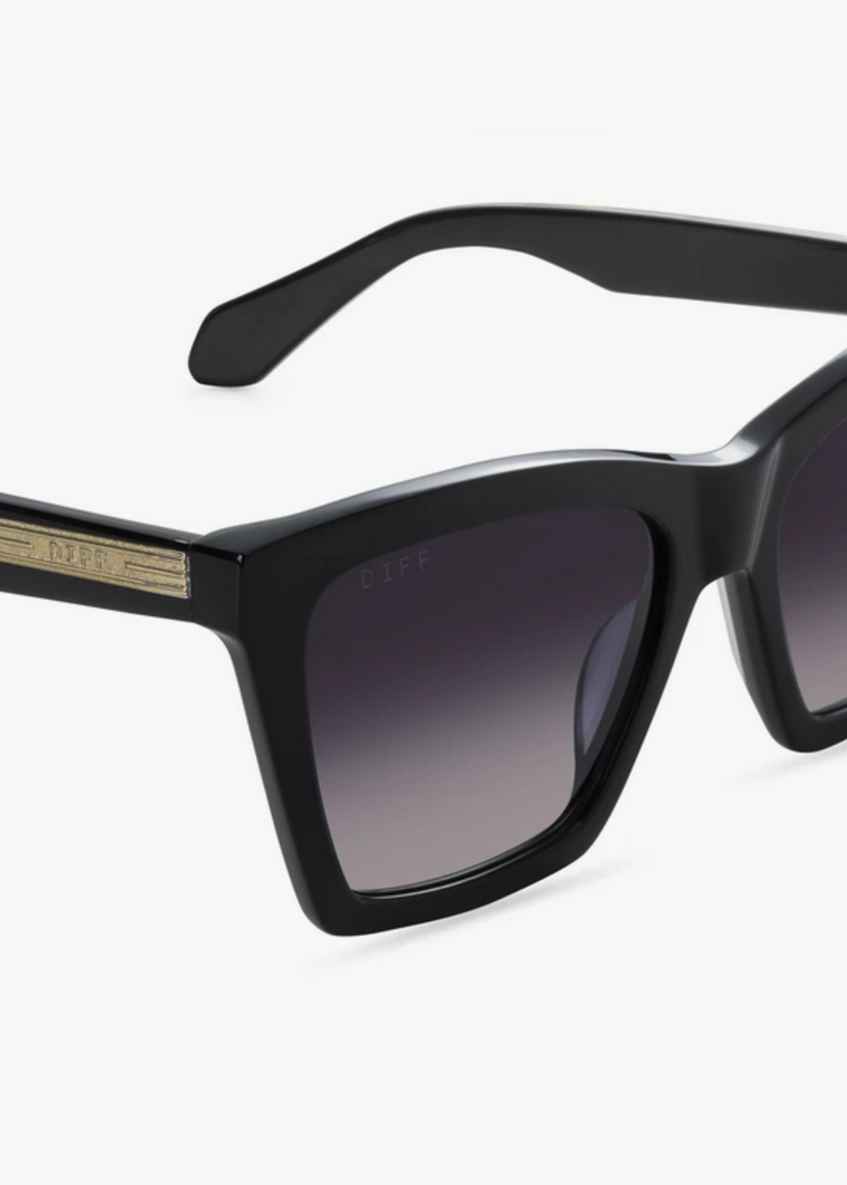 Elitaire Boutique Kenzie Black Grey Sunglasses
