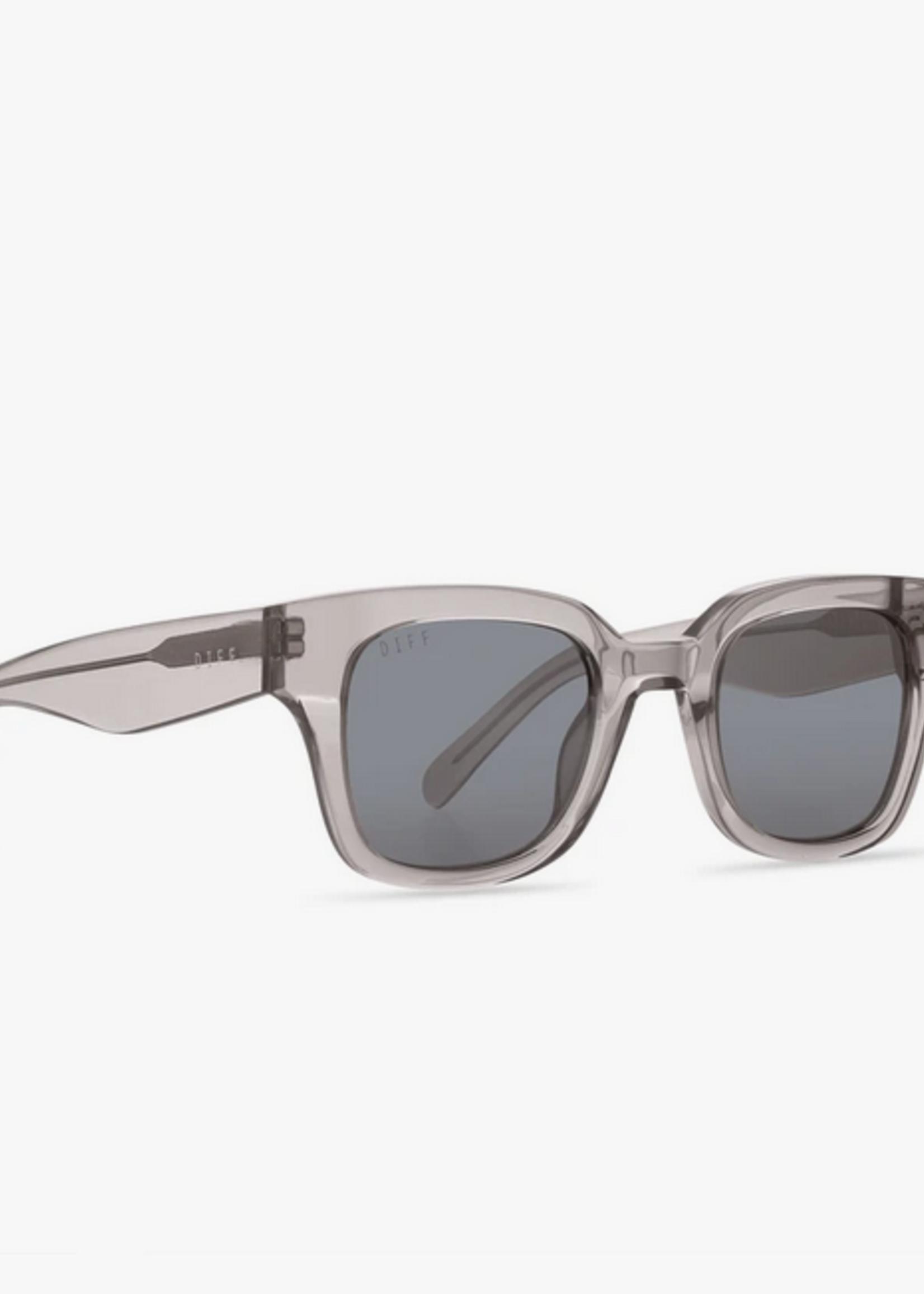 Elitaire Boutique Jean Template Grey Crystal Polaraized Sunglassses