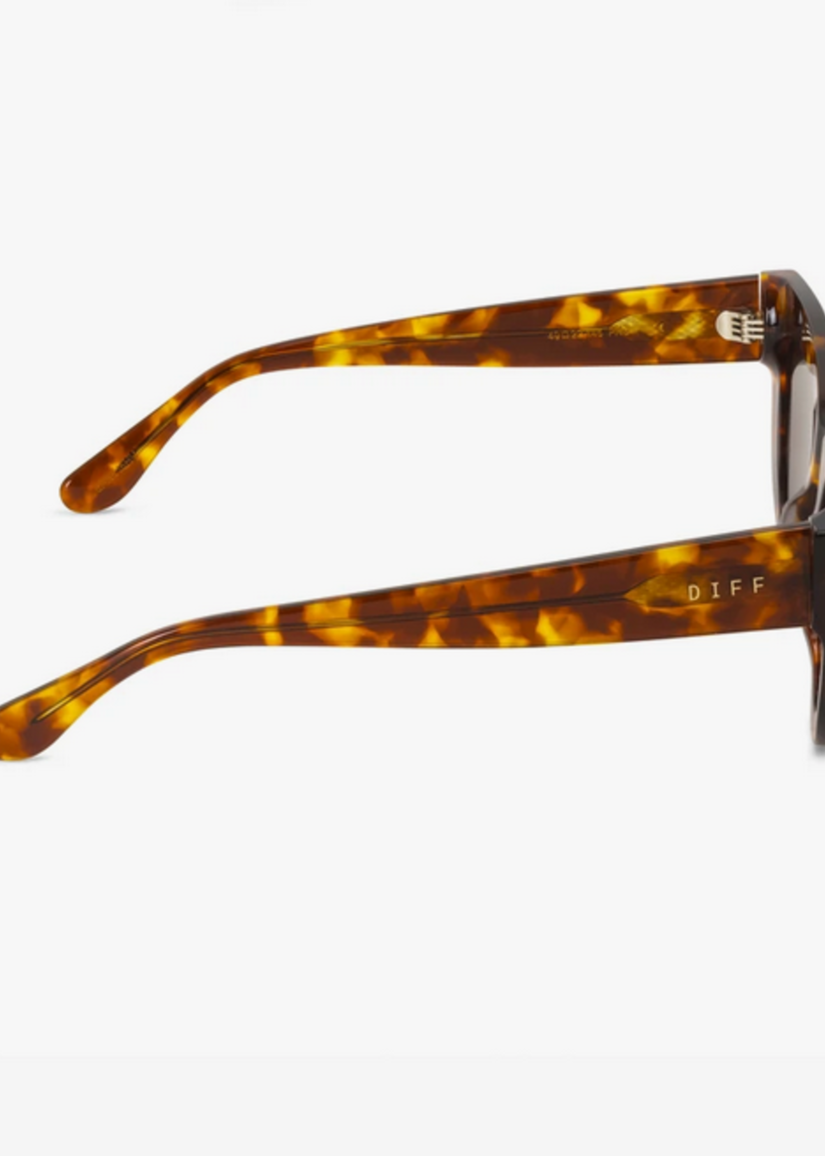Elitaire Boutique Kimmy Amber Tortoise Sunglasses