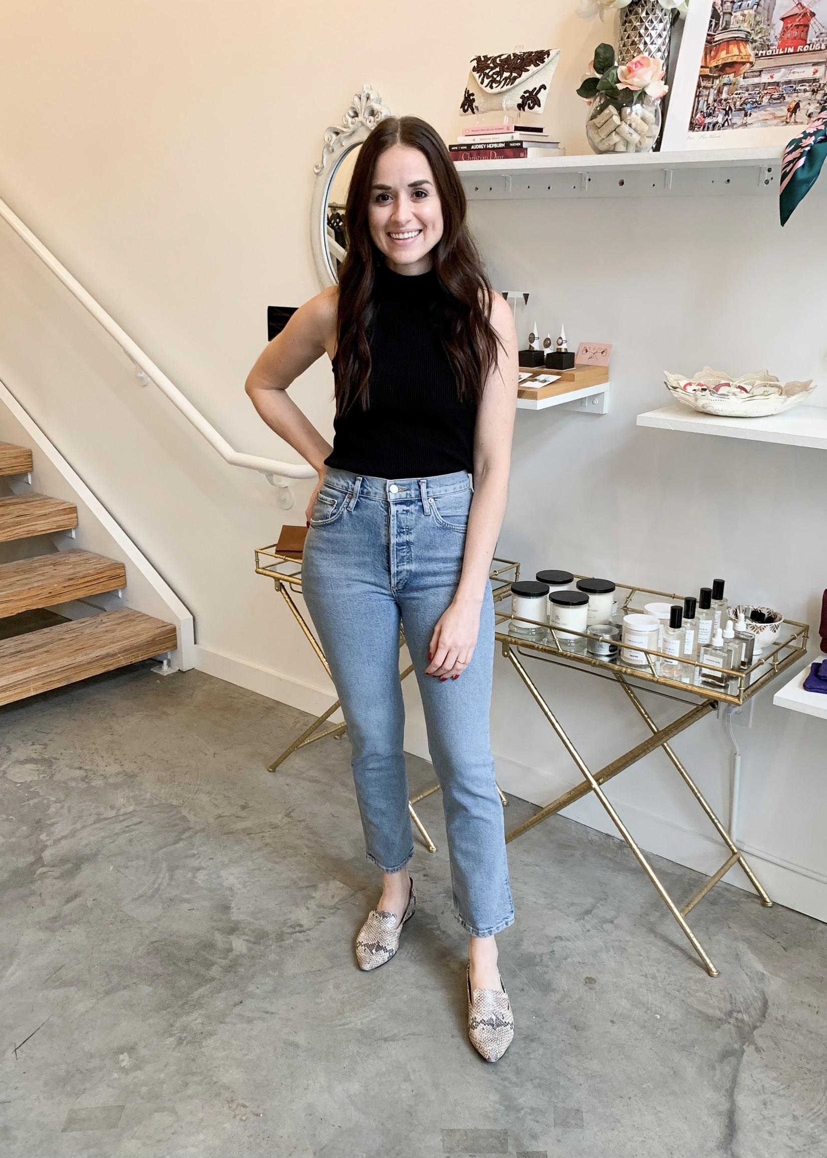 Elitaire Boutique Riley Crop in Shiver