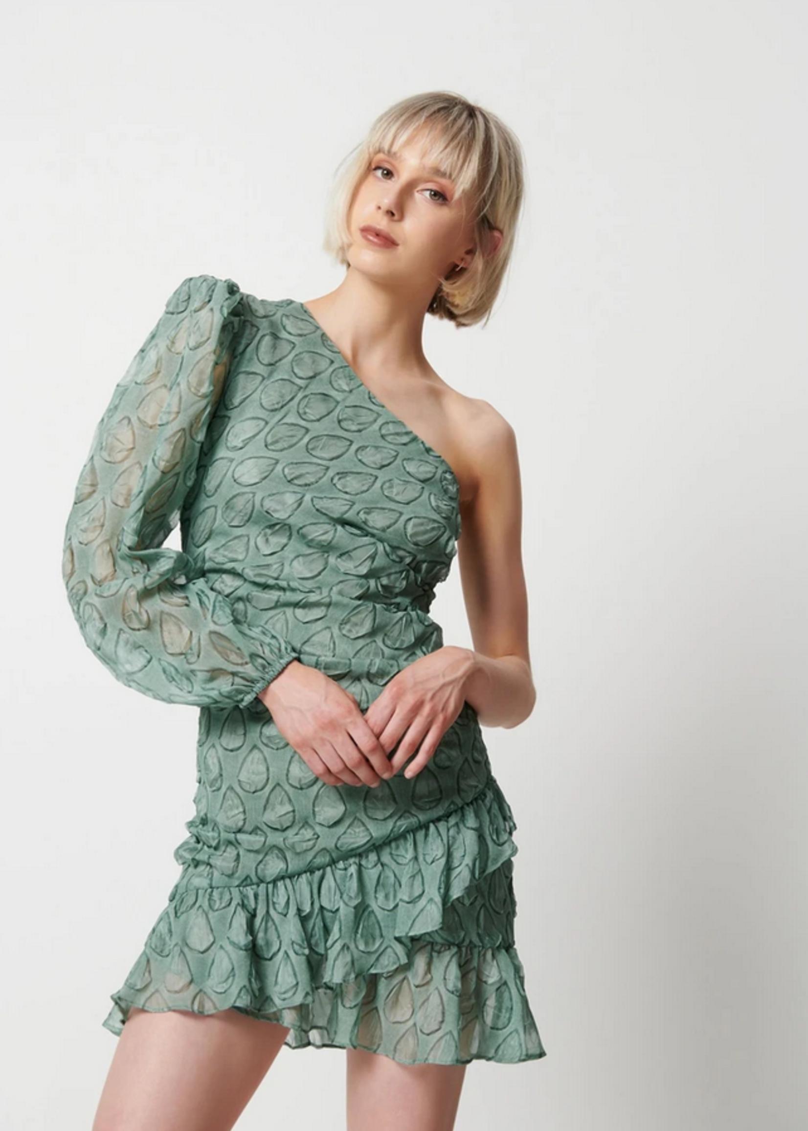 Elitaire Boutique Kakadu Dress in Green