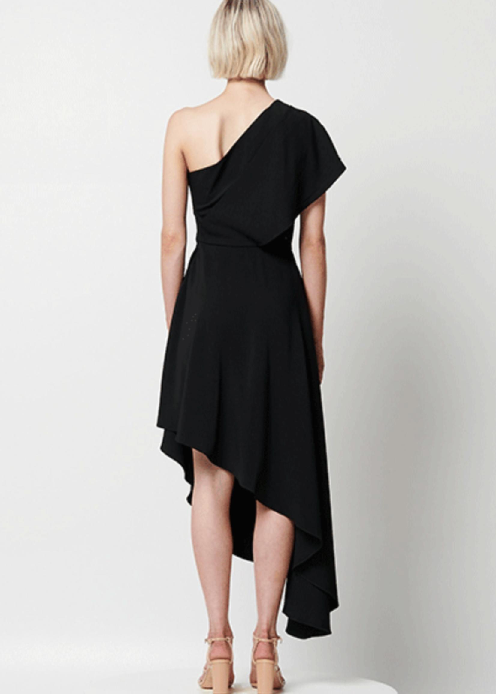 Elitaire Boutique Alpinia Dress in Black