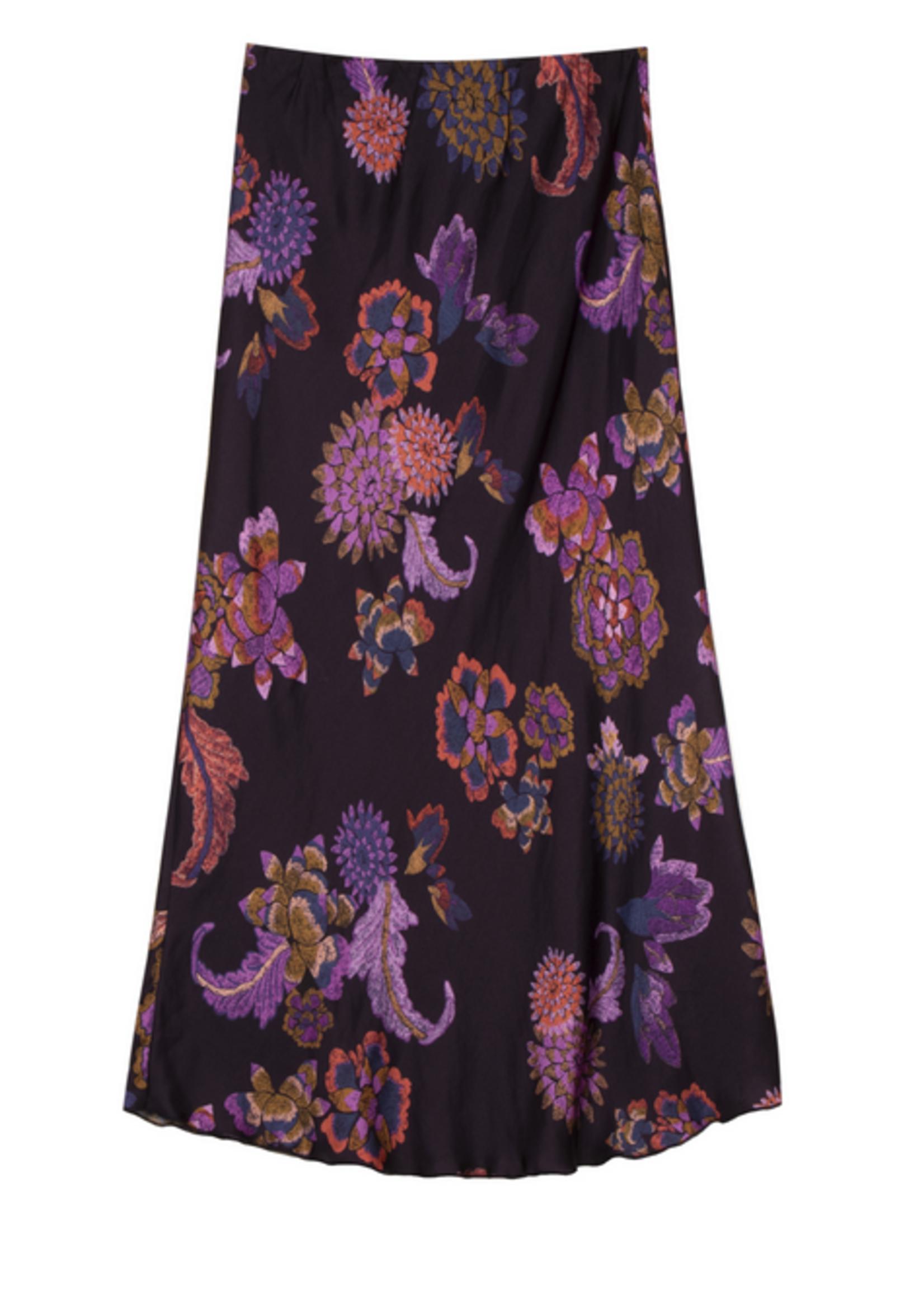 Elitaire Boutique Edelyne Retro Floral Skirt